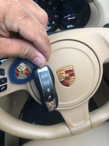 Porsche replacement remote key fob cost