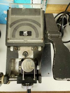 Older Cutting Machine - Still can cut a transponder key easily