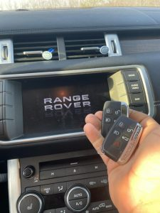 All Range Rover key fobs must be coded with a special machine
