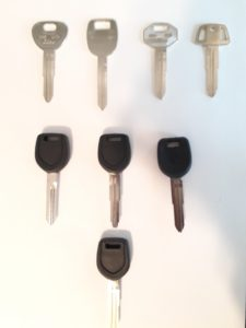Mitsubishi Car Keys Replacement, Transponder and Non Transponder