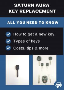 Saturn Aura key replacement - All you need to know
