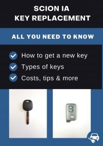 Scion iA key replacement - All you need to know