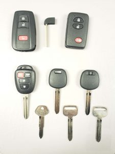 Scion Keys replacement - Key fob, transponder keys and non-chip