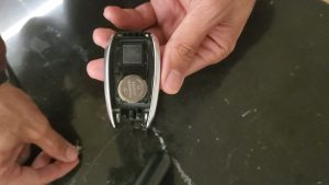 Key fob battery replacement - Subaru