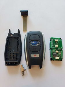 Chip inside Subaru key fob