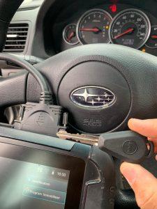 Automotive locksmith coding Subaru key