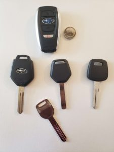 Subaru Keys Replacement