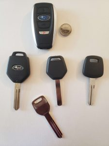 Automotive Locksmith For Subaru Keys Replacement