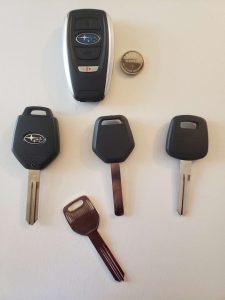 Subaru replacement car keys