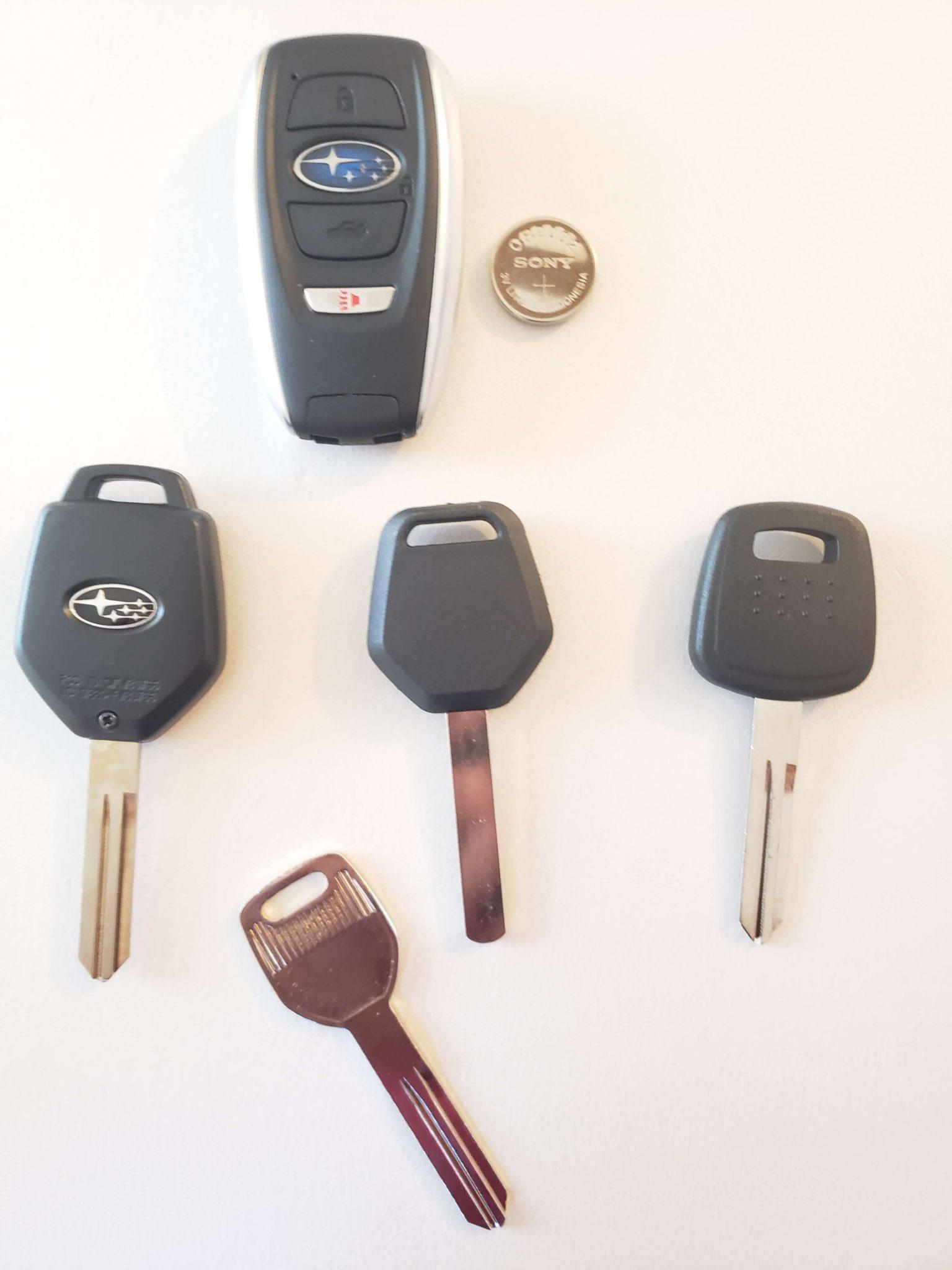 Subaru Replacement Key >> Lost Subaru Keys Replacement All Subaru Car Keys Made On