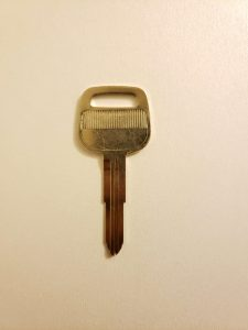 1990, 1991, 1992, 1993 Toyota Celica Convertible Non-Transponder Key Replacement (X211/TR44)