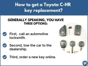 How to get a Toyota C-HR replacement key