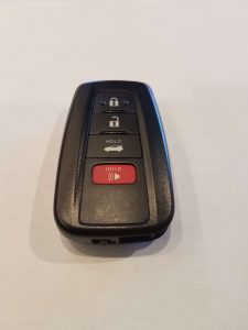 Toyota remote car key replacement - 2017 & 2018 models