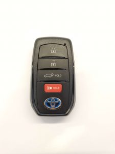 2021 Toyota key fob replacement