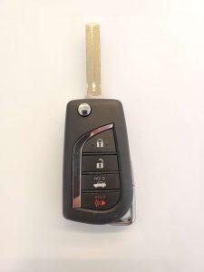 Lexus/ Toyota transponder flip key (HYQ14FBB)