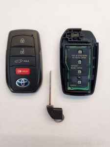 Battery replacement information for Toyota key fobs
