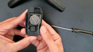 Key fob battery replacement - Toyota