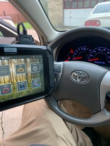 Automotive locksmith coding new Toyota keys