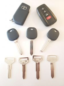 Toyota Yaris Car Keys Replacement