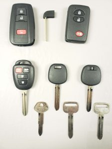 Toyota Avalon car keys replacement