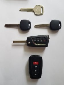 Replacement Car Keys - Non Chip, Transponder, Push To Start, Remote Key