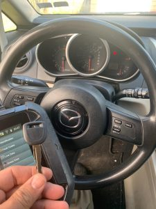 Transponder key replacement coding - Mazda