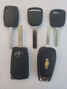 The dealer should have the blank and coding machine to program the new key