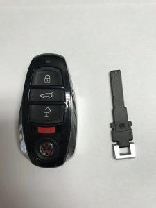 VW remote car key replacement - Push to start key fob