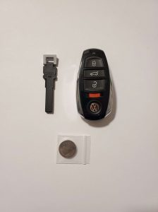 Original key fob replacement - VW