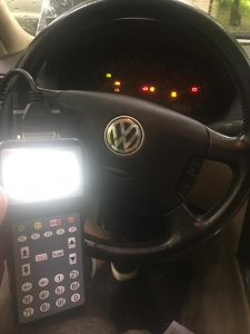 Locksmith coding a new VW key