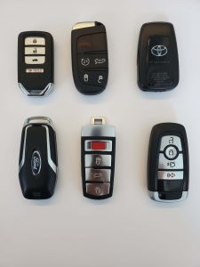 Push to start remote key fobs - different manufacturers