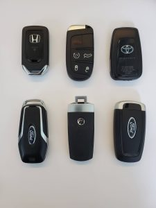 All key fobs must be coded with a special machine