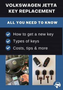 Volkswagen Jetta key replacement - All you need to know