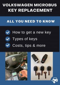 Volkswagen Microbus key replacement - All you need to know