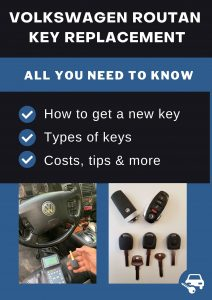Volkswagen Routan key replacement - All you need to know