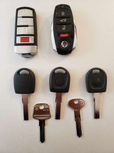 VW replacement car keys, fobs & remote