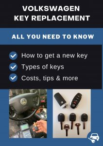 Volkswagen key replacement - All you need to know