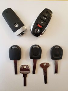 Volkswagen Car Keys Replacement