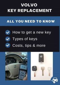 Volvo key replacement - All you need to know