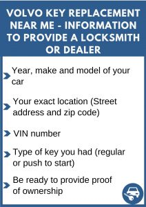 Volvo key replacement near me - Relevant information