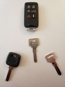Volvo Keys Replacement