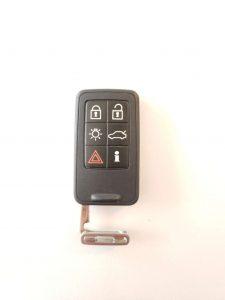 """""""Blank"""" Uncut Volvo Car Key"""