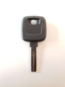 Volvo high-security car key with a chip