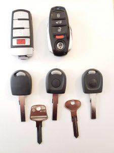 Variety of VW keys