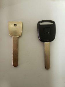 Non-transponder and transponder keys Acura/Honda
