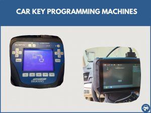 Car key coding machines
