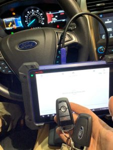 Automotive Locksmith Programming a Ford Escape Key On-site