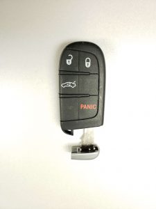 Jeep Key Fob and Emergency Key