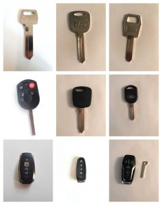 Replacement Car Keys Ford - Different Generations