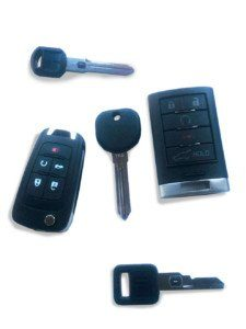 Pontiac Replacement Keys, Remote, VATS Keys